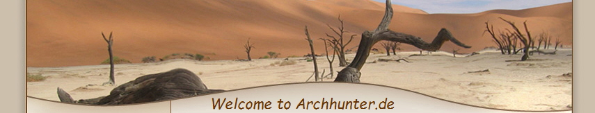 Welcome to Archhunter.de
