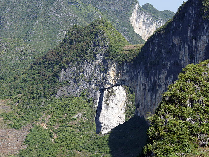Mengli Natural Bridge-China